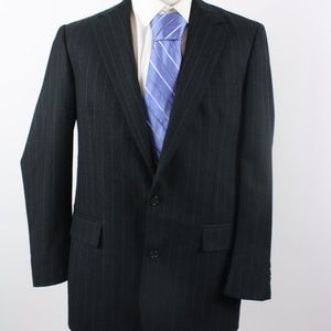 Brooks Brothers Gray Pin Striped Blazer Size 41L